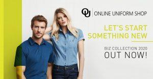Online Uniform Shop NZ Biz Collection 2020